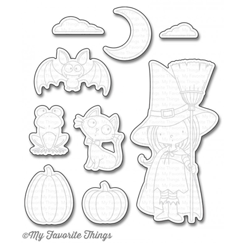 My Favorite Things WITCH WAY IS THE CANDY Die-Namics MFT1195 Preview Image