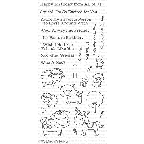 My Favorite Things ANIMAL FARM Clear Stamps CS232 Preview Image
