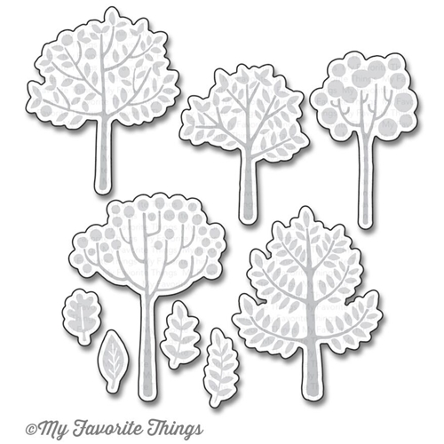 My Favorite Things MODERN TREES Die-Namics MFT1175 Preview Image