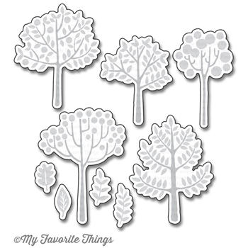 My Favorite Things MODERN TREES Die-Namics MFT1175