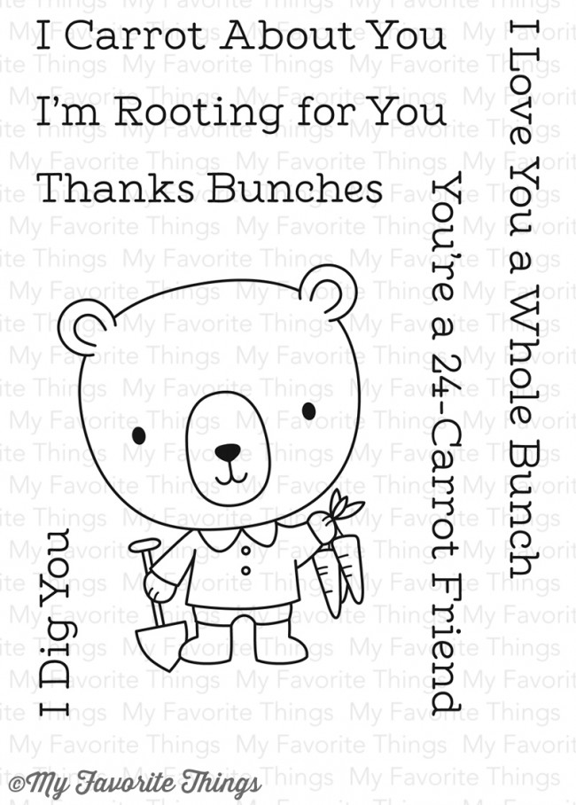 My Favorite Things ROOTING FOR YOU Clear Stamps CS230 zoom image
