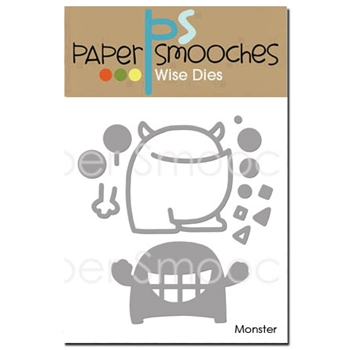 Paper Smooches MONSTER Wise Dies SED406*