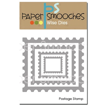 Paper Smooches POSTAGE STAMP Wise Dies SED407