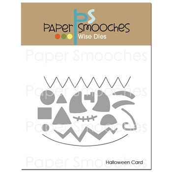 Paper Smooches HALLOWEEN CARD Wise Dies SED404*