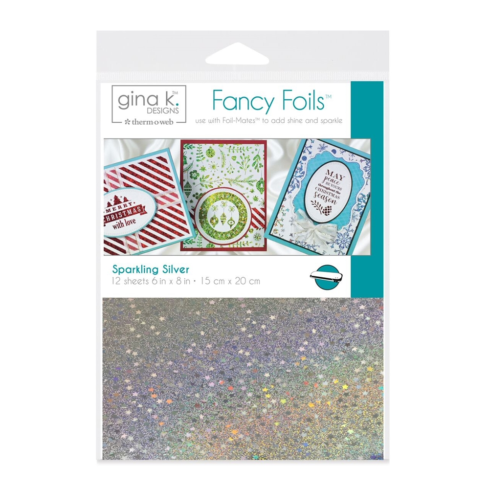 Gina K Fancy Foils, Silver