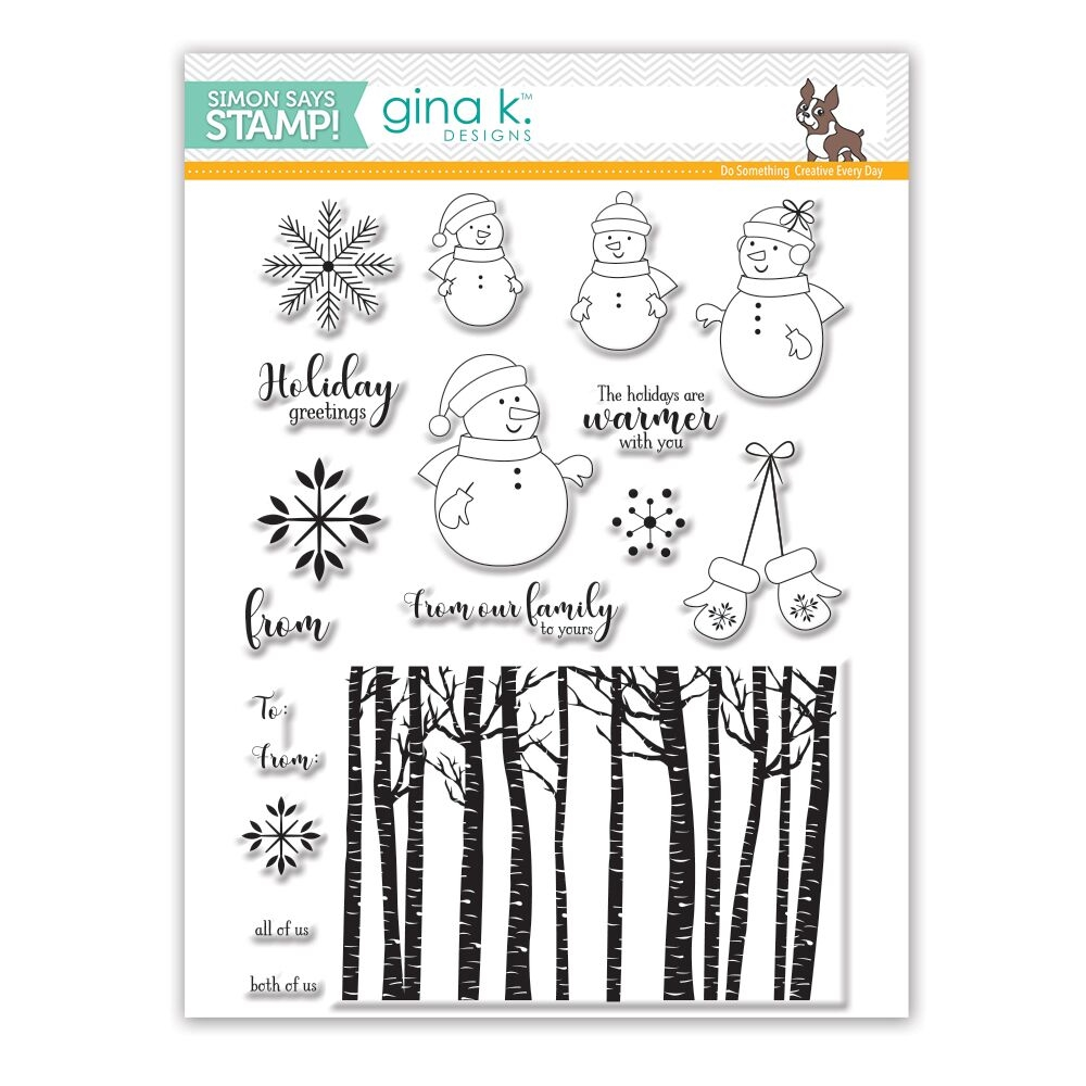 Gina K Designs WARMER WITH YOU Clear Stamps SSS101771 Stamptember Exclusive zoom image