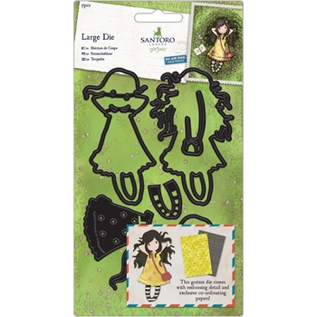 DoCrafts SPRING AT LAST Decorative Dies Gorjuss 503006