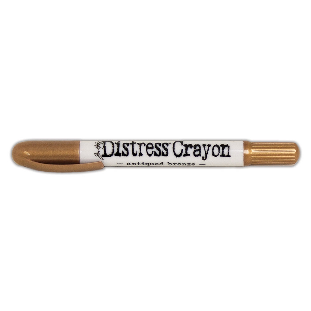 Ranger Tim Holtz Distress Crayon ANTIQUED BRONZE TDB58670 zoom image