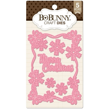 BoBunny CHRISTMAS CARD Craft Dies 12839308