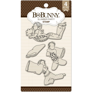 BoBunny SLUMBER PARTY Clear Stamps 12105291