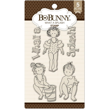 BoBunny WHAT A SPLASH Clear Stamps 12105295