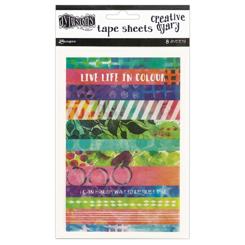 Ranger Dylusions CREATIVE DYARY TAPE STRIPS Dyan Reaveley DYE58571 Preview Image