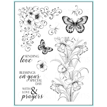 Gina K Designs SENDING LOVE Clear Stamps 9643