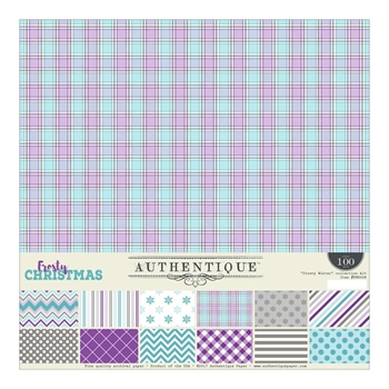 Authentique FROSTY WINTER 12 x 12 Collection Kit FWN008