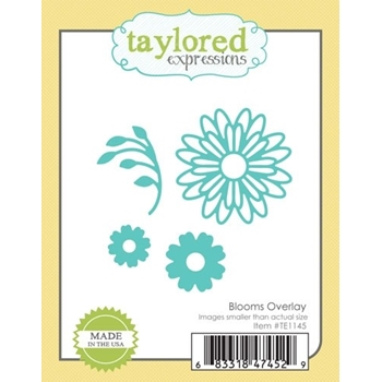 Taylored Expressions BLOOMS OVERLAY Die Set TE1145