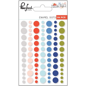 Pinkfresh Studio DECEMBER DAYS Enamel Dots PFRC500717
