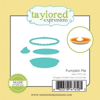 Taylored Expressions Little Bits PUMPKIN PIE DIE Set TE1143