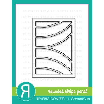 Reverse Confetti Cuts ROUNDED STRIPE PANEL Die