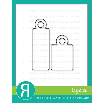 Reverse Confetti Cuts TAG DUO Die Set