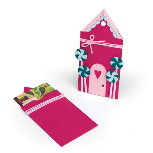 Sizzix GINGERBREAD GIFT CARD HOLDER Bigz Die 662451 Preview Image