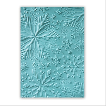 Sizzix WINTER SNOWFLAKES Textured Impressions 662287