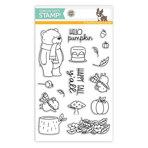 Neat and Tangled HELLO PUMPKIN Clear Stamps SSS101770 Stamptember Exclusive Preview Image