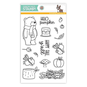 Neat and Tangled HELLO PUMPKIN Clear Stamps SSS101770 Stamptember Exclusive
