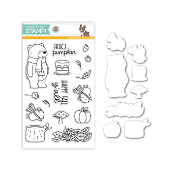 Neat and Tangled HELLO PUMPKIN Stamps and Dies Set SR17NTSet Stamptember Exclusive