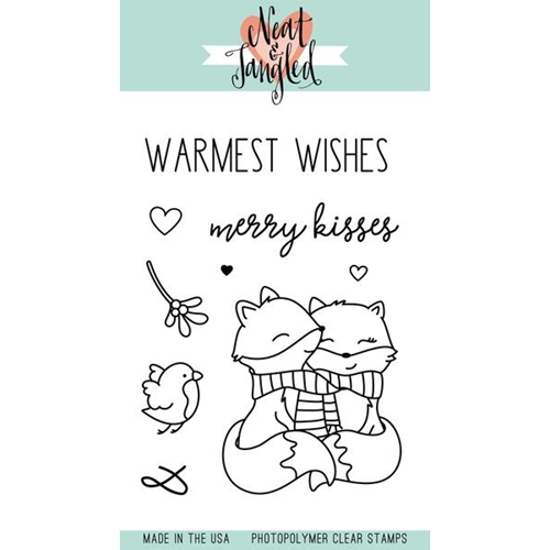 Neat and Tangled MERRY KISSES Clear Stamp Set  Preview Image