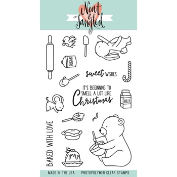 Neat and Tangled HOLIDAY BAKING Clear Stamp Set