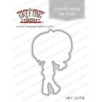 The Greeting Farm HEY CUTIE Coordinating Die Cut TGF343