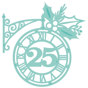 Kaisercraft CHRISTMAS CLOCK DIY Cuts Decorative Die DD456