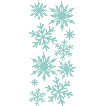 Kaisercraft MINI SNOWFLAKES DIY Cuts Decorative Die DD446