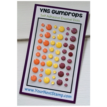Your Next Stamp SUNSET SPARKLE Gumdrops YNSGD067