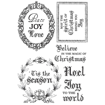 Kaisercraft LETTERS TO SANTA Clear Stamps CS309
