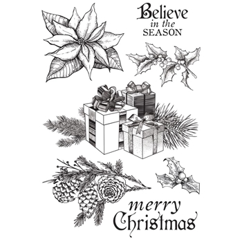 Kasiercraft CHRISTMAS EDITION Clear Stamps CS308