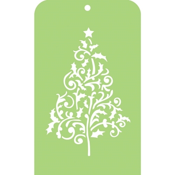Kaisercraft FLOURISH TREE Mini Designer Template Stencil IT021