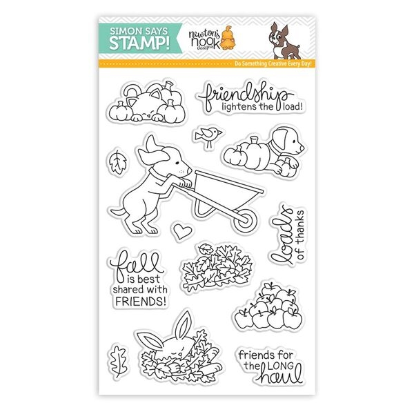 Newtons Nook LOADS OF THANKS Clear Stamps SSS101776 Stamptember Exclusive zoom image