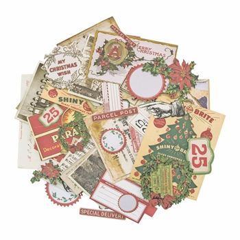 Tim Holtz Idea-ology CHRISTMAS Ephemera Pack TH93627