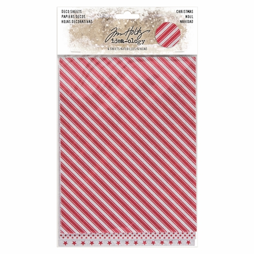 Tim Holtz Idea-ology CHRISTMAS Deco Sheets TH93644 Preview Image