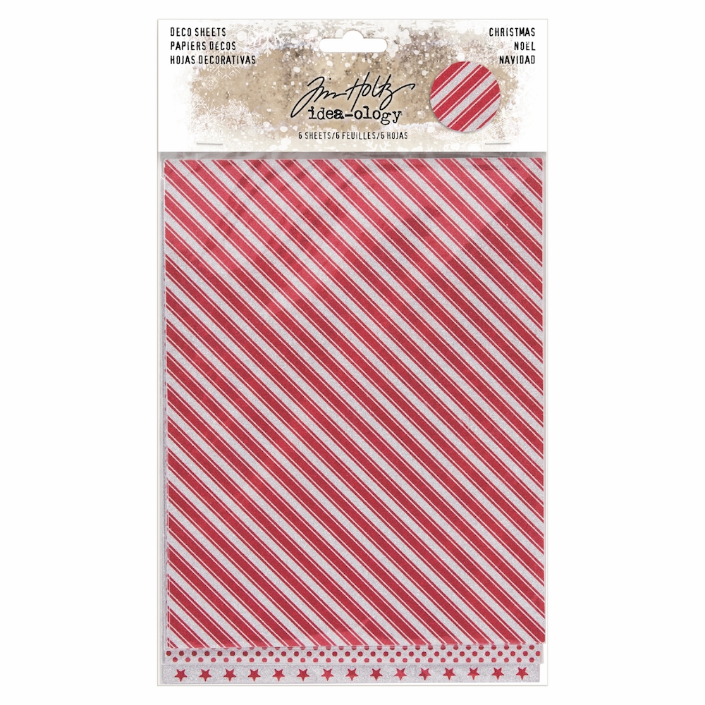Tim Holtz Idea-ology CHRISTMAS Deco Sheets TH93644 zoom image