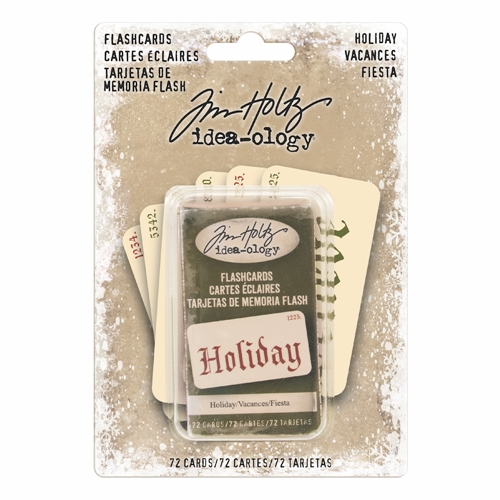 Tim Holtz Idea-ology HOLIDAY Flashcards TH93645 Preview Image