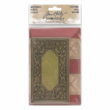 Tim Holtz Idea-ology CHRISTMAS BASEBOARDS Paperie TH93652