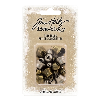 Tim Holtz Idea-ology TINY BELLS Findings TH93658
