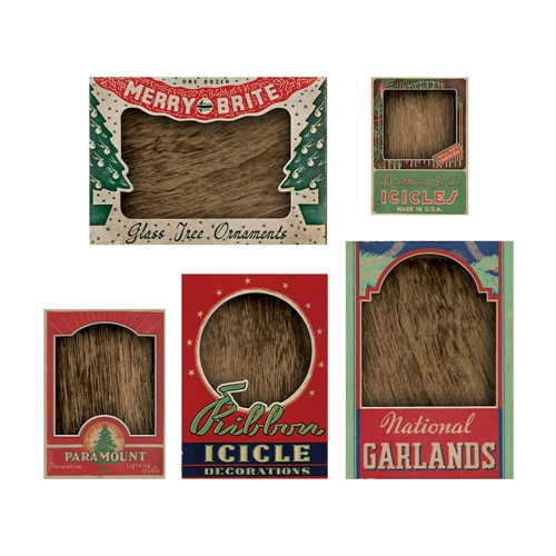 Tim Holtz Idea-ology VIGNETTE BOX TOPS Structures TH93663 Preview Image