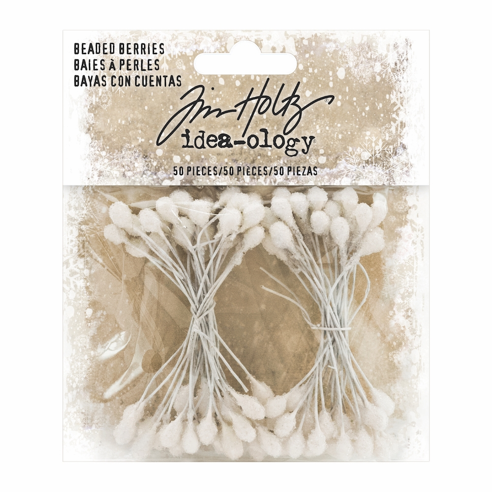 Tim Holtz Idea-ology BEADED BERRIES Findings TH93666* zoom image