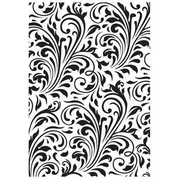 Kaisercraft FLOURISH Embossing Folder 4x6 Inches EF272