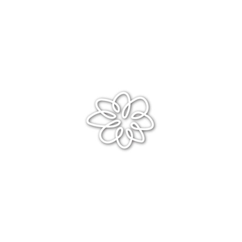 Simon Says Stamp SMALL SPIRAL FLOWER Wafer Die SSSD111790
