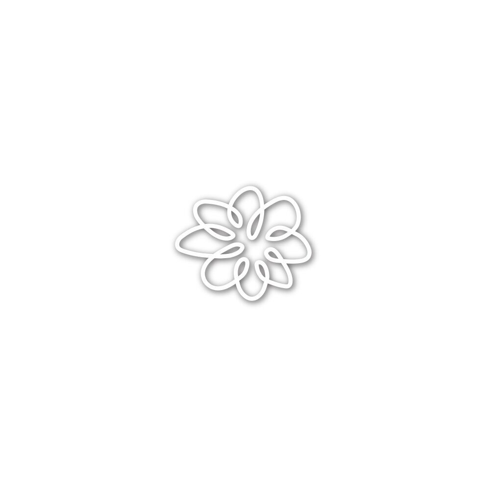 Simon Says Stamp SMALL SPIRAL FLOWER Wafer Die SSSD111790 zoom image