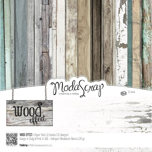 ModaScrap WOOD EFFECT 6x6 Paper WEPP15 Preview Image